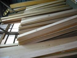 精度が高く、高品質な材木たち